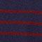 Jersey estilo marinero de de 100% cachemir Evening/cabernet Jolimer