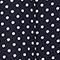 Falda 100 % de seda Dots maritime blue Lonna