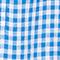 Blusa de lino Vichy princess blue gardenia Lostange
