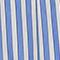 Falda de algodón Stripes light grey persian jewel Louverot
