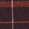 Bufanda estampado escocés Burgundy Jecossai