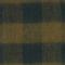"""Maxi bufanda de lana con bordado """"CDC"""" Rain forest Maxou"""