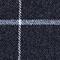 Bufanda estampado escocés Bleu Jecossai