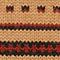 Jersey jacquard sin mangas de lana alpaca Jacquard taupe black brandybrown Moiran
