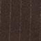 Blazer cruzado de lana Stripe coffee bean Muciano