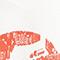 Bolso de tela estampada Valiant poppy Macaron