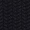 Jersey de lana con cuello redondo, trenzas y espigas Night sky Marquise