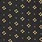 Camisa masculina de seda con manga larga Print mosaique black Morigesa