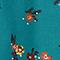 Blusa de cuello mao Bouquet mediteranea Jiplui