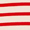 Jersey de lana atemporal Stripes fiery red gardenia Liselle