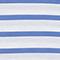Camiseta de algodón Stripes optical white amparo blue Lisou