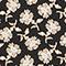 Blusa con manga larga y estampado floral Print fleurettes black latte Manrant