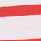 Camiseta de algodón Stripes optical white fiery red Lisou