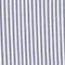 Pantalón MARGUERITE, 7/8 cigarette de algodón seersucker Str navy Nyokeasy