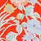 Top con cuello de pico y estampado floral Ete red small Nabrief