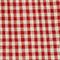 Blusa de lino Vichy ketchup buttercream Lostange