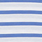 Camiseta de algodón egipcio Stripes optical white amparo blue Lisou