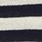Jersey rayado de algodón y lino Str maritime butter Licula