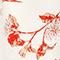 Vestido largo de crepé de viscosa Herbier gardenia ketchup Lavish